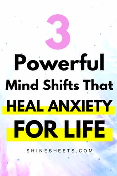 3 Powerful Mind Shifts That Heal Anxiety For Life Home Remedies For Face, Natural Remedies For Anxiety, Natural Cough Remedies, Anxiety Remedies, Holistic Remedies, Herbal Remedies, Natural Cures, Cold Remedies, Natural Skin