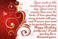 Birthday Images Wishes For Girlfriend Special Messages Quotes