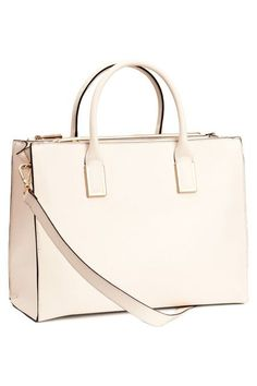 26 H&M Finds That Ring In At Under $100 #refinery29  http://www.refinery29.com/2015/05/87124/hm-best-clothing-for-may-under-100#slide-13  A clean, sophisticated bag for when you're feeling high-class.