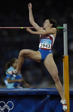 Athletics  - High jump Long Jump, High Jump, Artistic Gymnastics, Gymnastics Girls, Sports Images, Sports Photos, Female Action Poses, Foto Sport, Love Fitness
