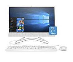HP 22 21.5″ FHD IPS WLED-Backlit AIO Touchscreen Desktop Computer, 8th Gen Intel Quad-Core i3-8100T 3.1Ghz(Beats i5-7500T), 4GB DDR4, 1TB HDD, Bluetooth 4.2, AC WiFi, USB 3.1, HDMI, DVD, Windows 10 Best Desktop Computers, Gaming Pcs, Hdd, Windows 10, All In One, Beats, Wifi, Bluetooth, Core