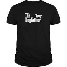 Golden Retriever DogFather T-Shirt  - Mens T-Shirt