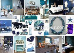 Shades of blue - www.huis-en-interieur.com
