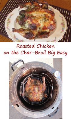 Roasted Chicken on the Char-Broil Big Easy 2