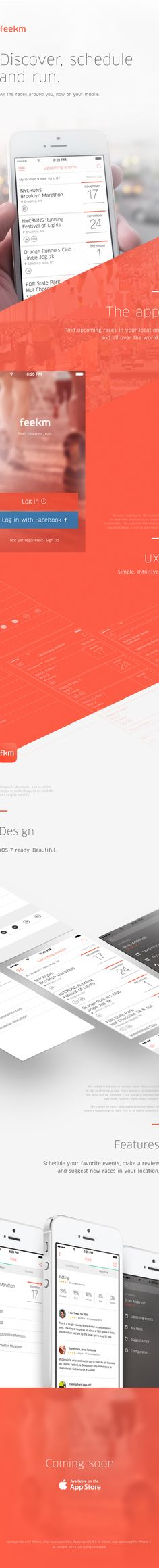 Feelkm by Manuel Navarro Orozco, via Behance