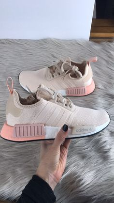 Nov 2019 - Absolutely gorgeous, brand new in box, authentic! All sneakers ship double boxed within 24 hours! Price is firm. Adidas Nmd R1, Nmd Adidas Women Outfit, Adidas Shoes Nmd, Moda Sneakers, Cute Sneakers, Shoes Sneakers, Cute Nike Shoes, Adidas Shoes Women, Adidas Nmd Women