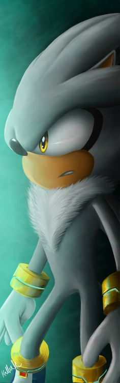 Silver The Hedgehog by IfreakenLoveDrawing.deviantart.com on @deviantART