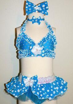 Swimwear 049-Jordan Grace Princesswear custom pageant swimwear