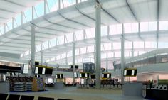 Norman Fosters new Terminal 2 at Heathrow airport