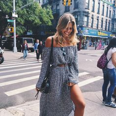 "Natasha Oakley on Instagram: ""Roaming around in @faithfullthebrand- I love NYC in this weather :)"""