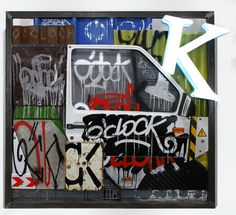 Tutoriel Graffiti/ Street Art : Comment faire un tag ? exercices/conseils - Slave 2.0 Images Graffiti, Street Art, Clock, Tags, Style, Drawing Expressions, Picture Wall, Exercises, How To Make