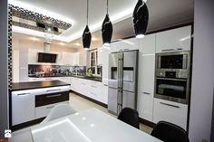 Aranżacja i wykonanie kuchni glamour - zdjęcie od Drewland Pracownia Mebli