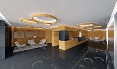 Vestíbulo del Nuevo hotel  de Laboratorio de Arquitectura.