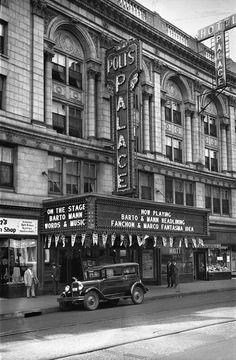 Poli's Palace Theatre - Waterbury, CT - 1929