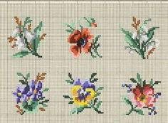 This Pin was discovered by Mar Cross Stitch Boarders, Tiny Cross Stitch, Easy Cross Stitch Patterns, Beaded Cross Stitch, Simple Cross Stitch, Cross Stitch Flowers, Cross Stitch Designs, Cross Stitching, Cross Stitch Embroidery