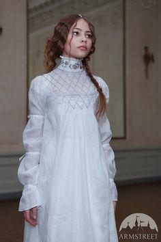 """SALE Custom Linen Renaissance Chemise """"Beautiful Juliette"""" sca ren larp"""