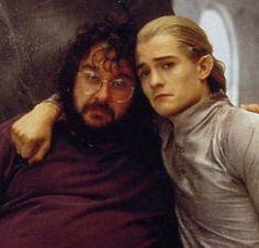 Legolas and Peter Jackson