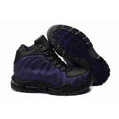 Top Seller Nike ACG Air Foamposite Men Boots Black/Purple 1010 For $71.00 Go To: http://www.basketballmallvip.com