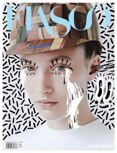 The art of magazine covers: 20 incredible examples from 2012 Cover Art/Design This is similar to photo illustrations, but I especially like how the person is on an illustrated background as well as having artistic elements added to their face Magazine Design, Magazine Art, Life Magazine, Magazine Layouts, Magazine Photos, Magazine Spreads, Graphisches Design, Layout Design, Design Ideas
