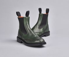 Silvia Elastic Sided Boot | The Original Handmade English Country Shoes and Boots by Tricker's