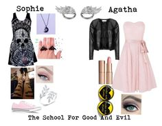 """The school for good and evil"" by afs9205-i ❤ liked on Polyvore featuring Kaliko, Zizzi, Converse, Charlotte Tilbury, AS29, women's clothing, women, female, woman and misses"