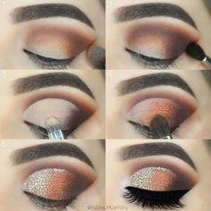 Eye Makeup Tips – How To Apply Eyeliner – Makeup Design Ideas Makeup Eye Looks, Eye Makeup Steps, Beautiful Eye Makeup, Smokey Eye Makeup, Cute Makeup, Eyeshadow Makeup, Pink Eyeshadow, Makeup Set, Eyeshadow Palette