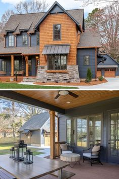 Barn House Plans, Dream House Plans, My Dream Home, Dream House Exterior, Exterior House Colors, Exterior Design, Exterior Paint, Modern Farmhouse Exterior, Farmhouse Design
