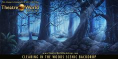 #TheatreWorldBackdrops #FOREST #JUNGLE  #landscape #forest #trees