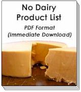 Good website for dairy free diet while breastfeeding