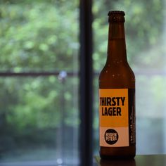 Thirsty Lager, craft from Berlin.