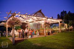Mt. Hood B & B ---wedding dance floor