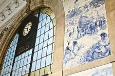 azulejos @ São Bento Railway Station, Porto