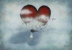 Art from the heart by Amanda Cass - ego-alterego.com