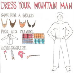 My mountain man. Please and thank you.