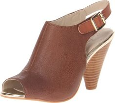 Seychelles Women's Callin My Bluff Boot,Whisky,9 M US (884633707488) Leather upper Adjustable buckle closure at ankle strap. Open toe construction. Stacked cone heel. Platform Height: 1⁄4 in