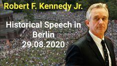 Robert F. Kennedy Junior: Die komplette Rede in Berlin - Ein Zeichen der Hoffnung Berlin, Kennedy Jr, Mental Training, How To Plan, Videos, Youtube, New World Order, World Domination, Youtubers