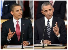 #Obama at his first State of the Union address, and at his last. 46-54 years old. #presidential #aging