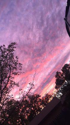 pinterest: @xsedona | Sky Aesthetic, Purple Aesthetic, Pretty Pictures, Tumblr Wallpaper, Wallpaper Backgrounds, Iphone Wallpaper, Sunset Wallpaper, Pretty Sky, Beautiful Sky