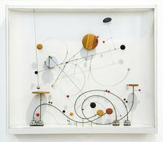Kinetic Object C-15, 1969 / 2001, by Abraham Palatnik