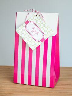 PREPPY PINK premium bag tag