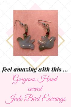 Inspired by love and breathtaking beauty! A pair of bird earrings, dazzling with love while you wear it. It give's you a sensational feeling of love and carefree!