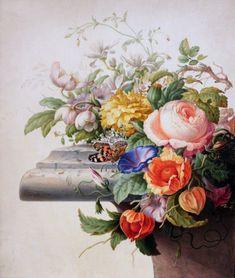 Herman Henstenburgh | Description 1700 Henstenburgh Bouquet anagoria.JPG