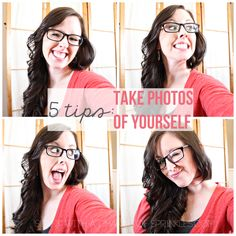 Sunny with a Chance of Sprinkles: 5 Tips: Take Photos of Yourself - great tips @Chelsea Rose Rose Thom