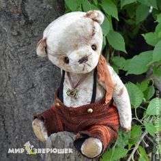 Винтажный мишка тедди