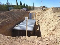 underground homes | Using Shipping Containers for Underground Homes