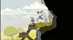 A new enemy in Feudal Alloy. Game Dev, Ps4 Games, Indie Games, Screen Shot, Xbox One, Videogames, Gaming, Animation, Drawings