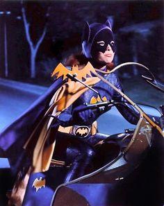 vintagegal: Yvonne Craig as Batgirl on The Batman TV series c. Batman 1966, Batman Dark, Batman And Superman, Batman Comics, Batman Robin, Dc Comics, Batman Stuff, Batman Show, Batman Tv Series