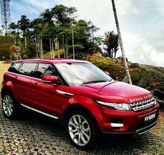 Firenze Red Range Rover Evoque