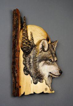 Loup Relief Skulptur von Davydovart Geschenk aus Holz Memorial für Jäger geschnitzt auf Holz der Linden Dekoration Chalet und House Art Wand für Liebhaber der Wölfe  DIESE SKULPTUR IST BESTELLBAR.  KOSTENLOSER VERSAND NACH KANADA UND DEN VEREINIGTEN STAATEN  Für Lieferungen außerhalb von Nordamerika ist der Preis für jedes Land im Bereich LIEFERUNG und BEDINGUNGEN angezeigt.  Ungefähre Abmessungen: 10 X 16 X 1 1/4 (25 cm X 42 cm X 3 cm)  Bitte kontaktieren Sie mich, wenn Sie andere Abmes...