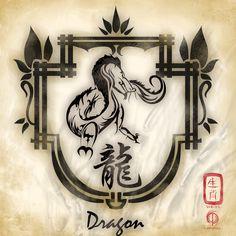 My Chinese Zodiac - the dragon